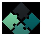 EachScape puzzle logo