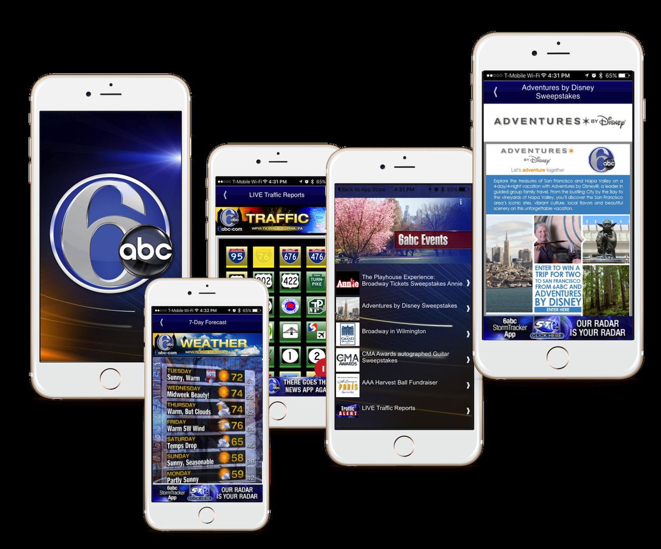 6ABC EachScape Mobile app