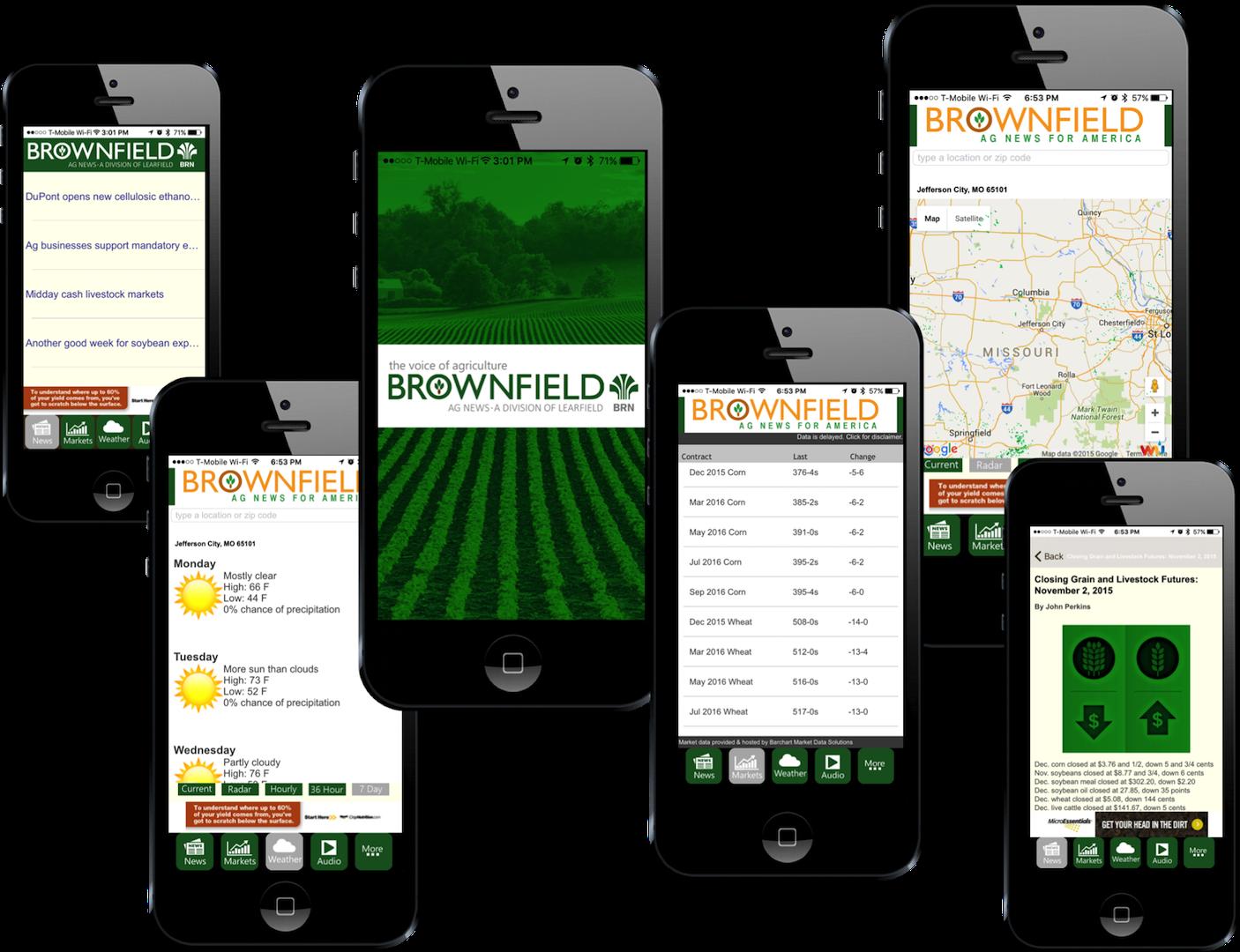 Brownfield EachScape mobile app showcase