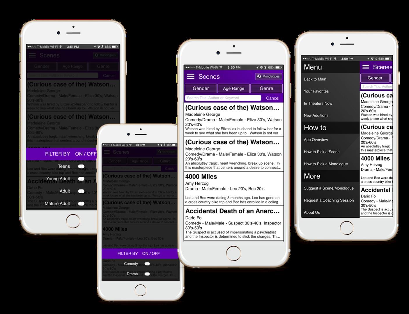 SMB EachScape mobile app showcase