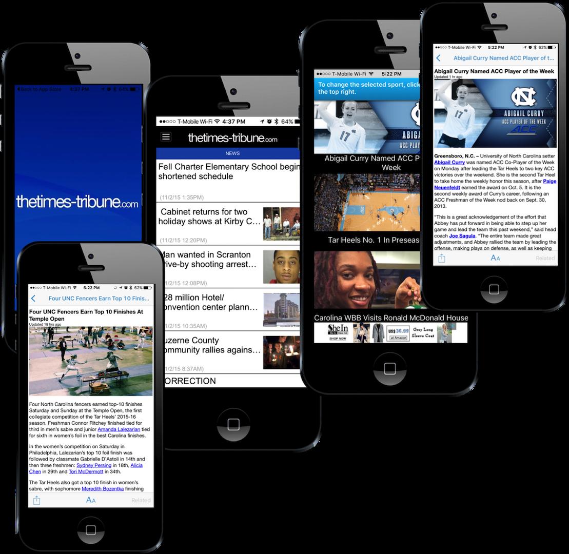 SMB Tribune EachScape mobile app showcase