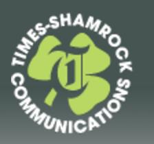 Times Shamrock communications logo