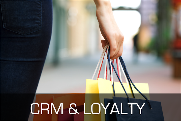 Retail technology CRM and loyalty app