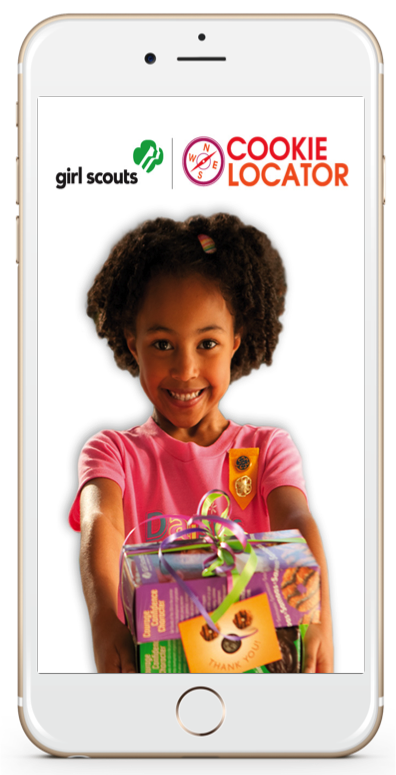 Girl scouts cookie locator mobile app