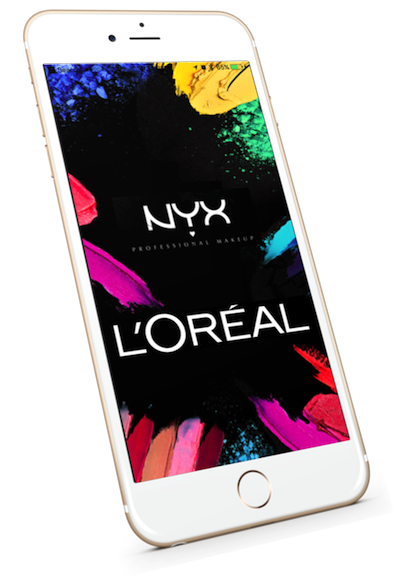 NYX retail customer capture mobile app