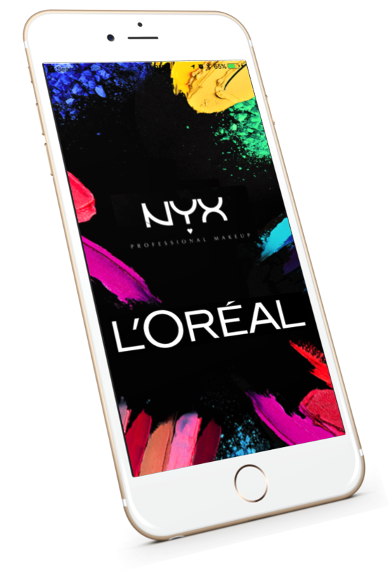 L'Oreal NYX Retail customer capture Mobile App